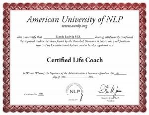 Certificate: Certified Life Coach