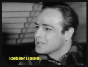 I coulda been a contender: Marlon Brando, On the Waterfront